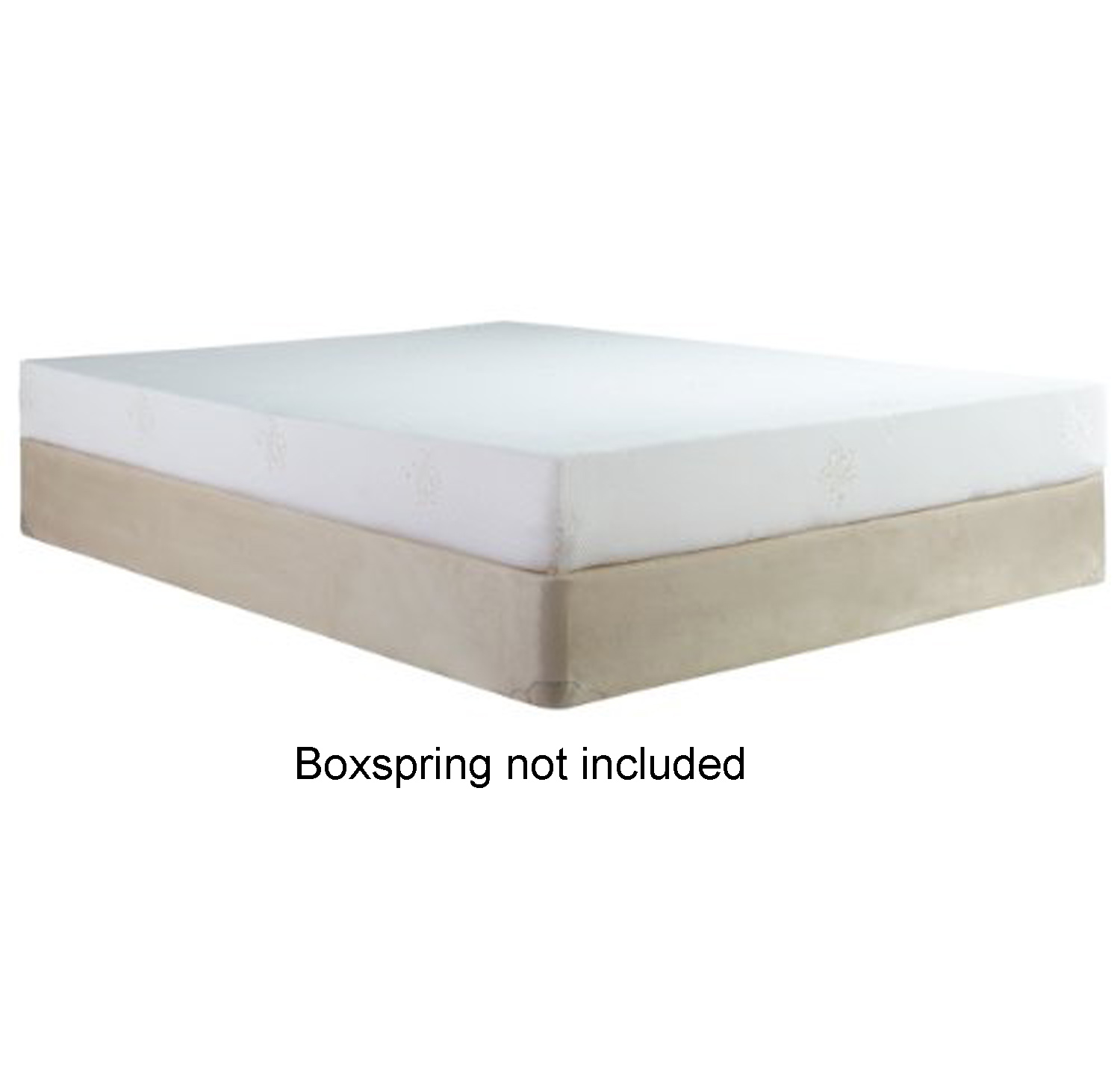 Silhouette 8 Inch Firm Memory Foam Mattress